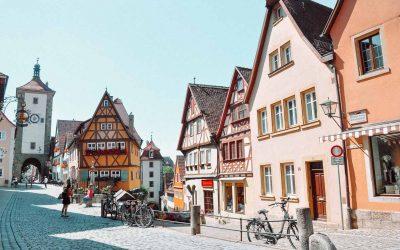 Visita el pueblo encantado de Rothenburg ob der Taube