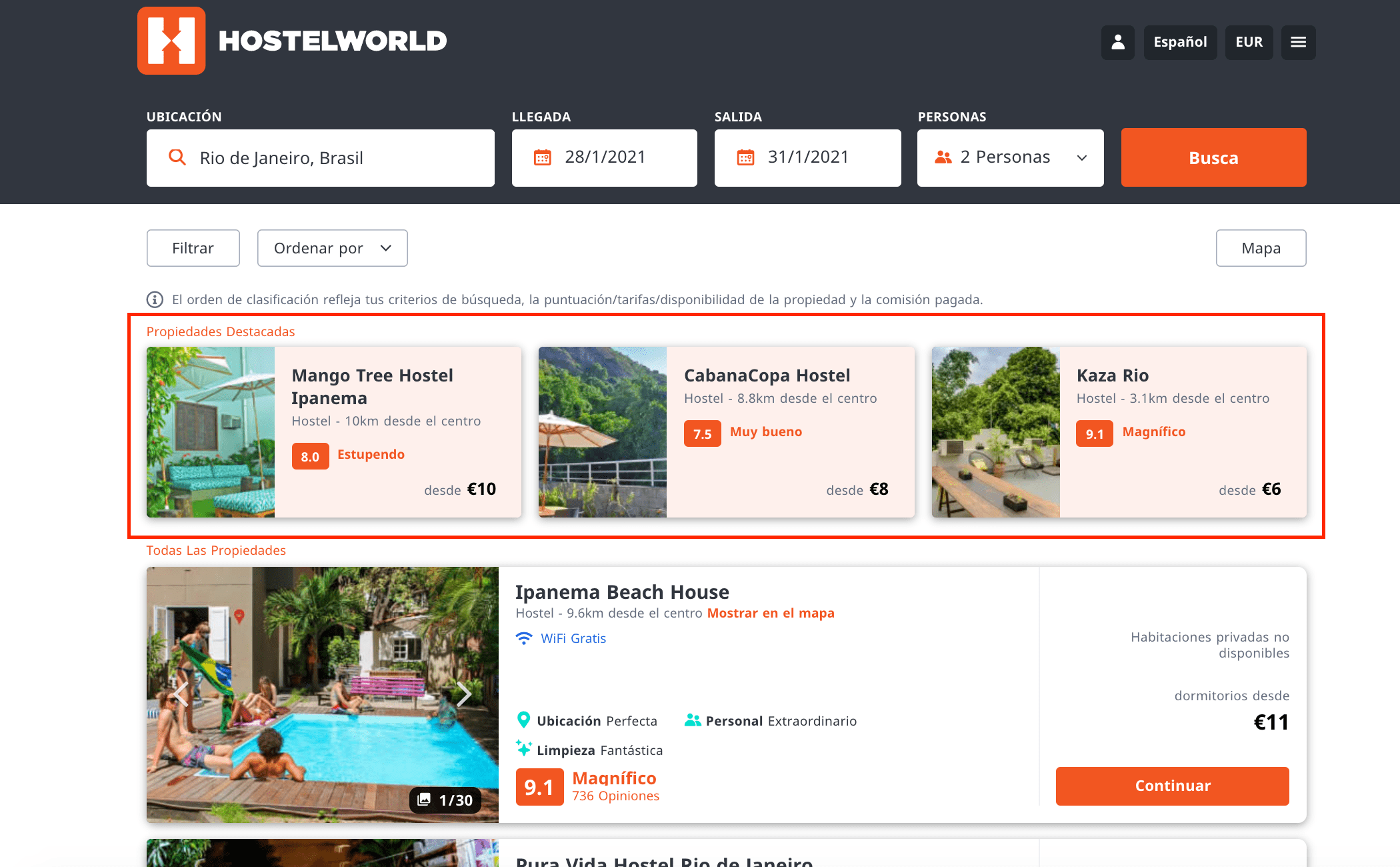 hostelworld deal